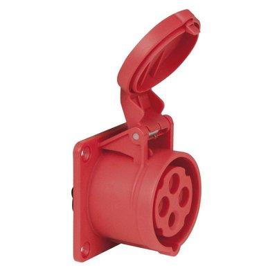PCE CEE 16A 4-polige inbouw socket female