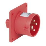 PCE CEE 16A 4-polige inbouw socket male