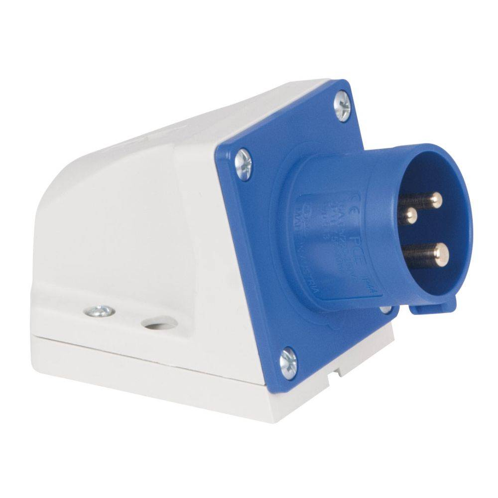 Image of PCE CEE 16A 3-polige opbouw socket male