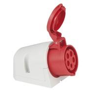 PCE CEE 16A 5-polige opbouw socket female