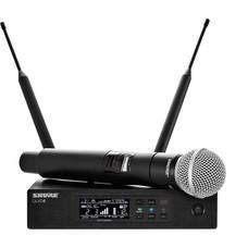 Shure QLXD24E-SM58 draadloze microfoon
