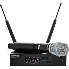 Shure QLXD24E-Beta 87A draadloze microfoon