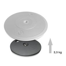 Gravity MS2WP Verzwaarde plaat voor microfoonvoet