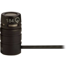 Shure WL184 Supercardioide lavalier microfoon zwart