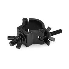 Riggatec Halfcoupler Small zwart 32-35mm RVS
