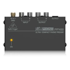 Behringer PP400 phono voorversterker