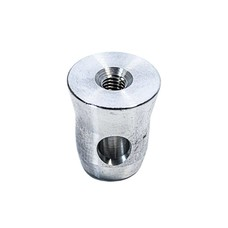 Duratruss DT 30/40-HC-M10 Halve spigot met M10 schroefdraad