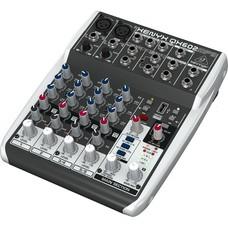 Behringer Xenyx QX602MP3 PA en studio mixer