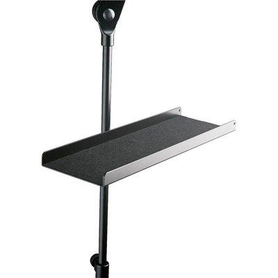 K&M 12218 Tray voor microfoonstatief zwart