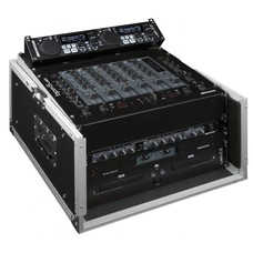 JB Systems DJ Case 10/6U Slant flightcase