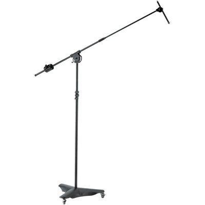 K&M 21430 Overhead microfoonstatief zwart