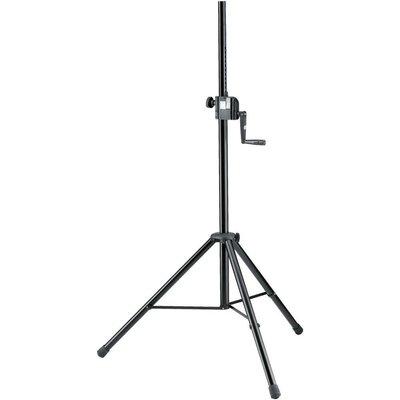 K&M 21302 Wind-up luidsprekerstatief zwart