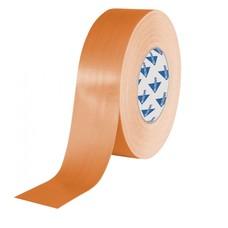 Deltec Gaffa tape rol 50mm 25m oranje