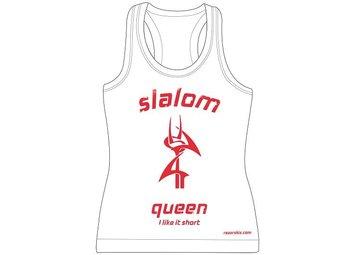 """RAZOR RAZOR tank top """"slalom queen"""" size S"""