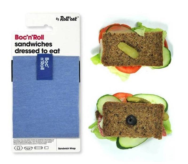 Lunchwrap van ecologisch katoen, voor een verse lunch.