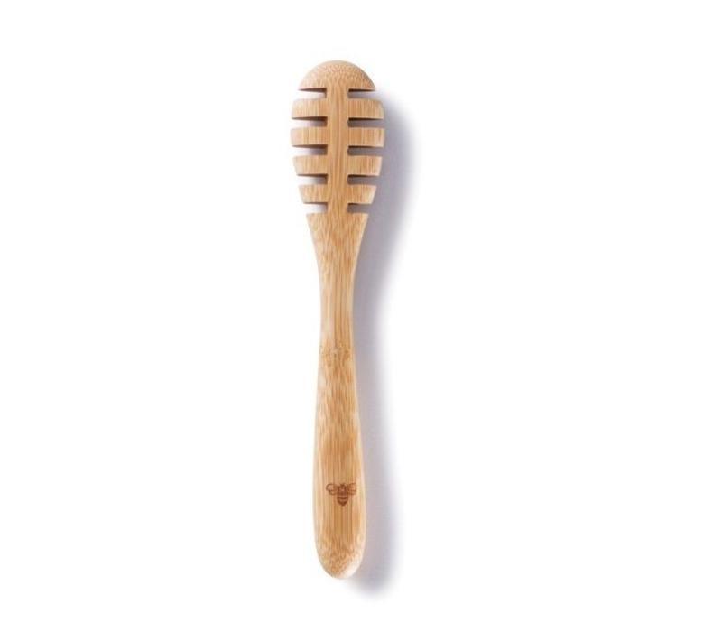 Honinglepel van biologische bamboe