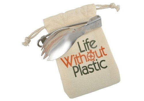 Life without Plastic Spork, inklapbaar
