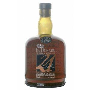 El Dorado 21 Years Old Special Reserve Rum