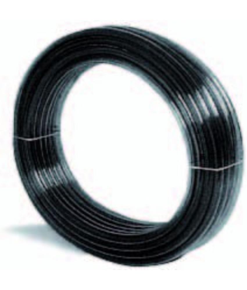 Heldere pvc slang zwart