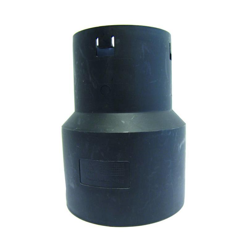 PP Drainage verloopstuk Ø 80 x 125mm (DRAIN/PVC)