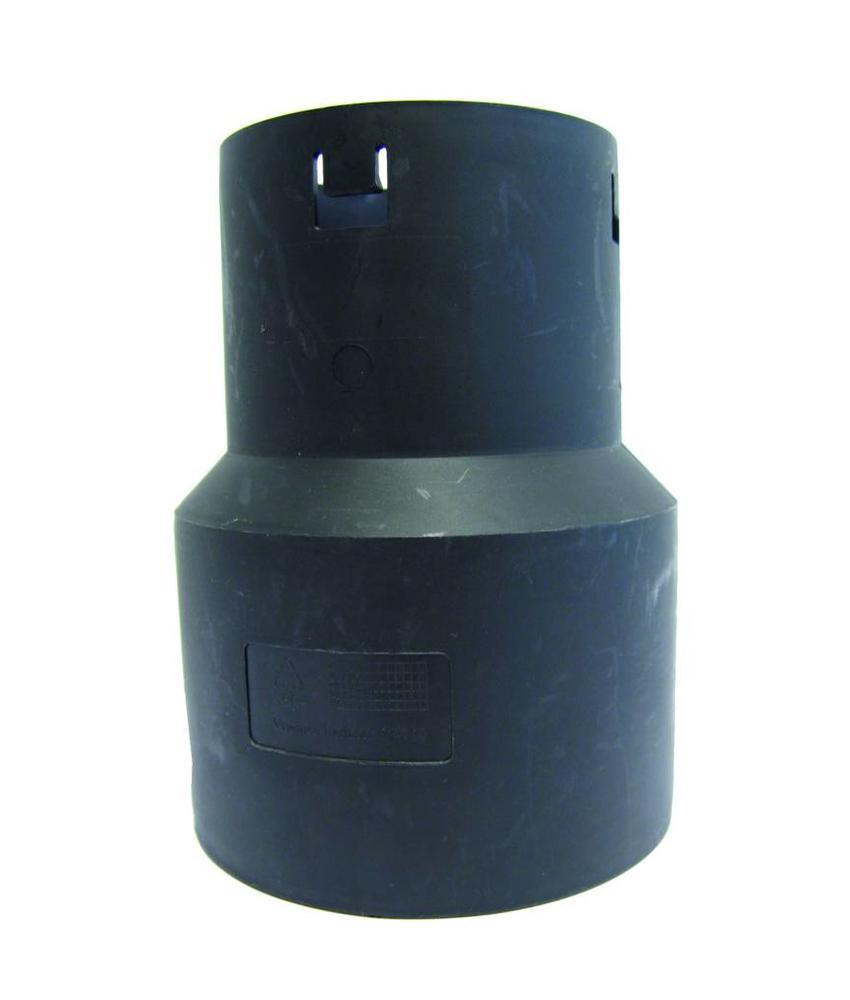 Drainage verloopstuk Ø 80 x 125mm (DRAIN/PVC)