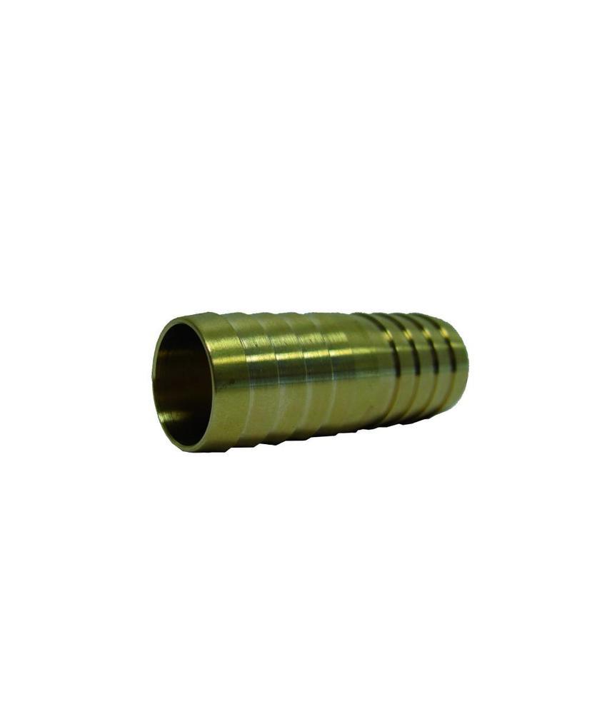 3/4'' (bui.dr) x 20mm messing slangkoppeling 2 x slangtule