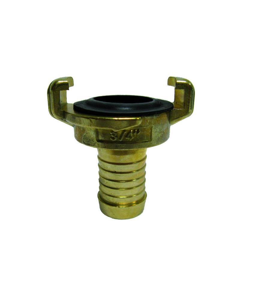 Geka slangkoppeling 25 mm met slangtule