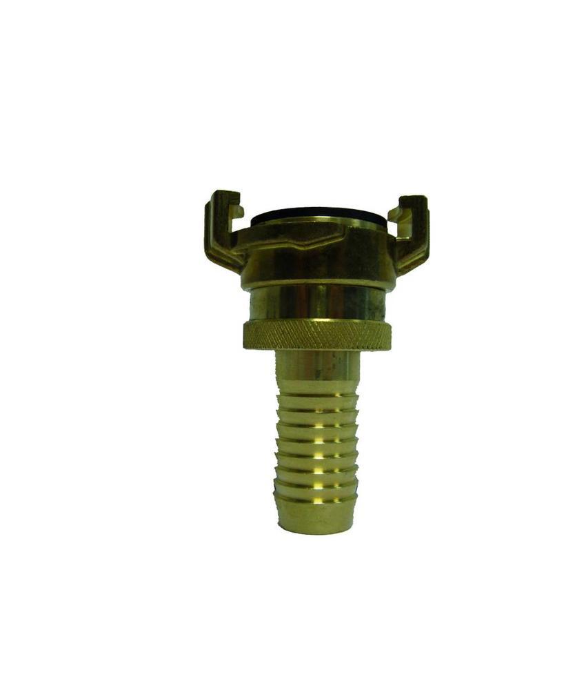Geka slangkoppeling 20 mm met nastelbare wartel en slangtule