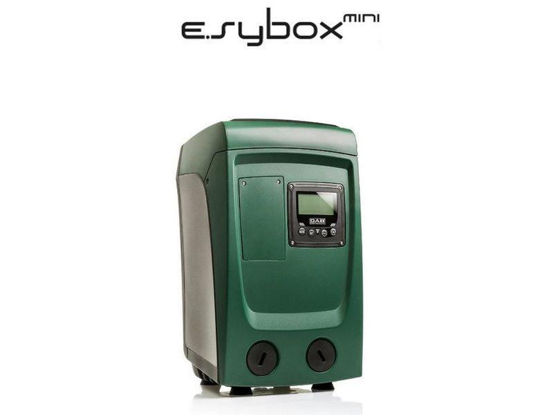 DAB E.sybox mini hydrofoorpomp inclusief voordrukbeveiliging (geschikt voor drinkwater)