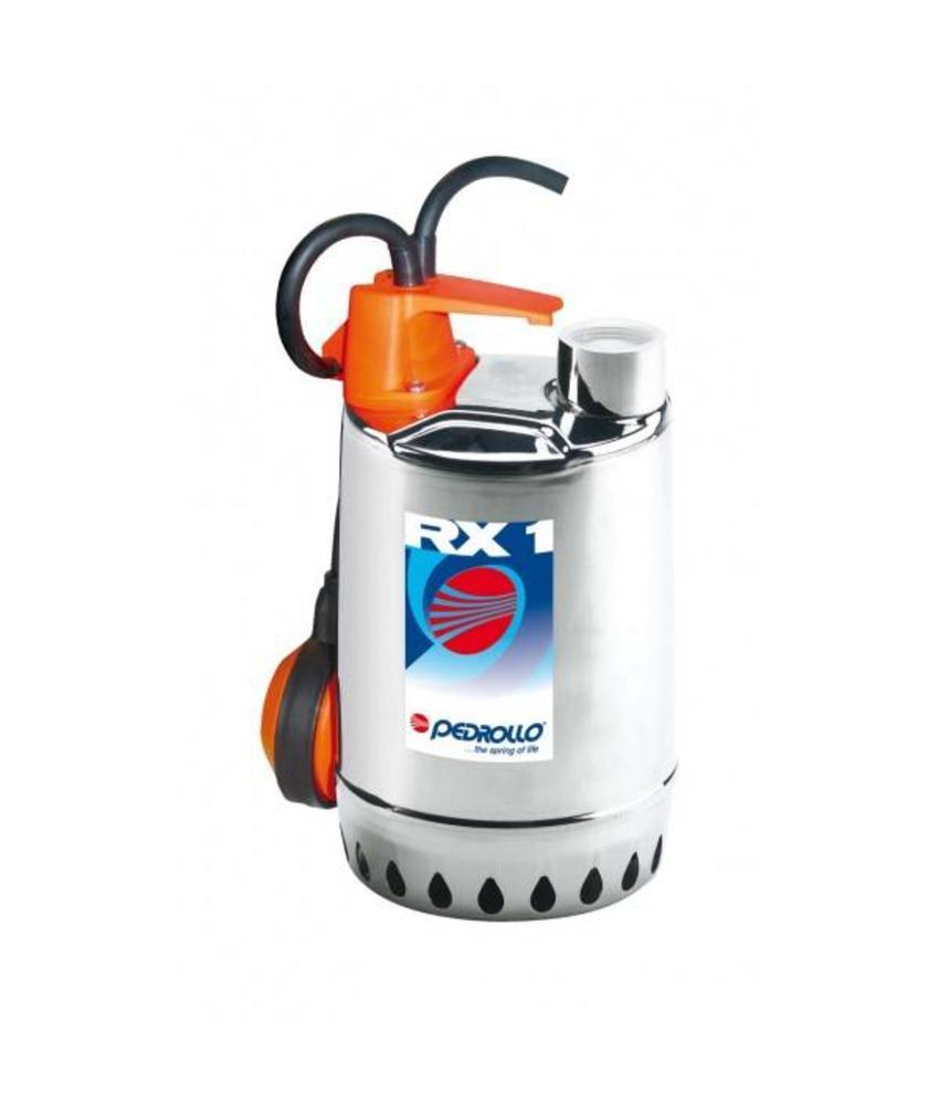 Pedrollo RXm 2 RVS dompelpomp zonder vlotter