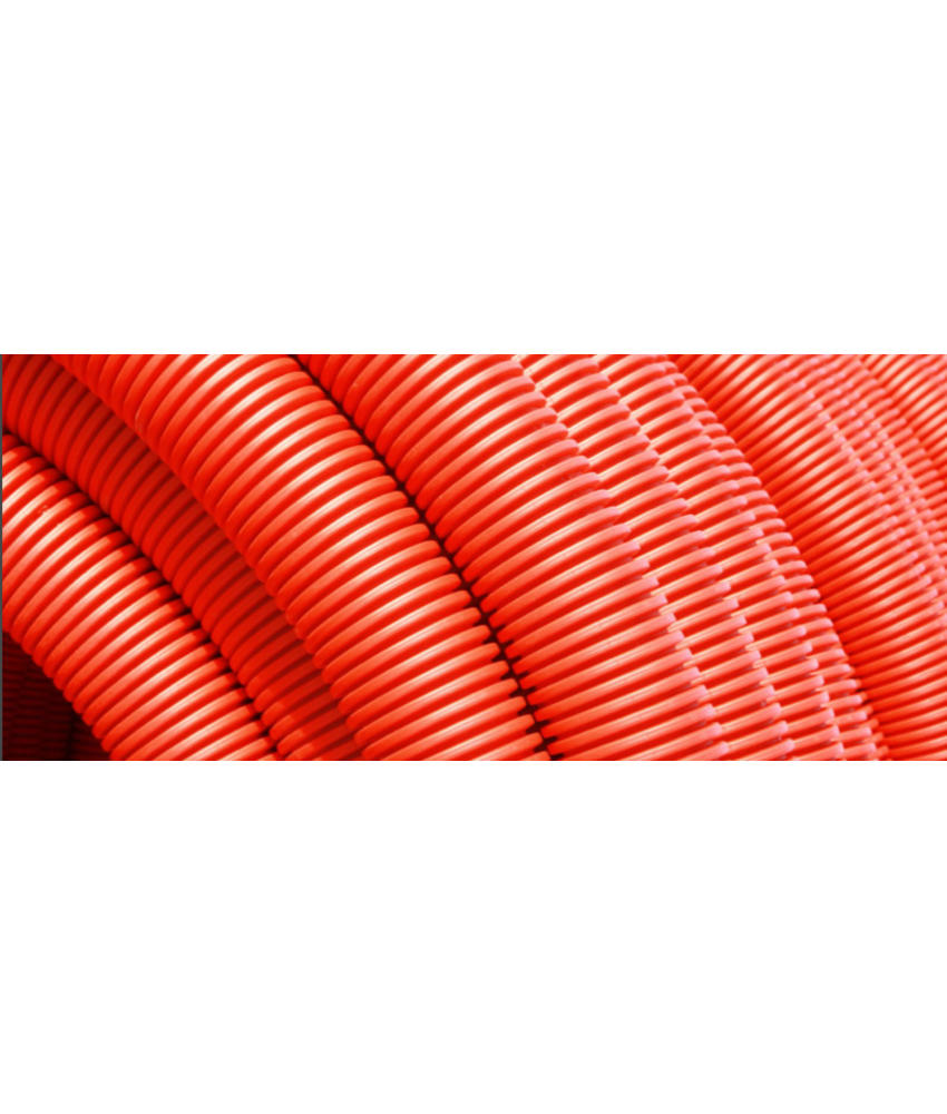 Kabelbeschermingsbuis rood Ø 63 MM L= 25 meter