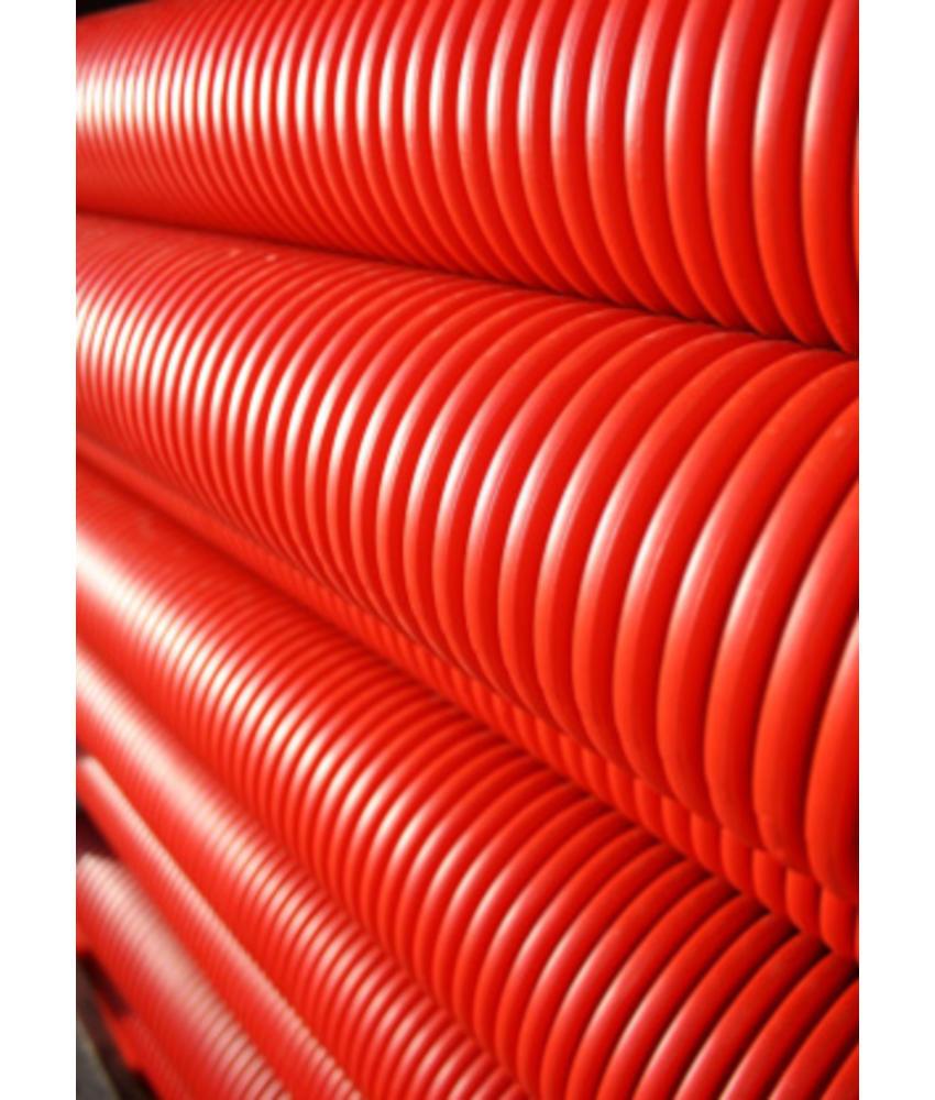 Kabelbeschermingsbuis rood Ø 125 MM L= 6 meter