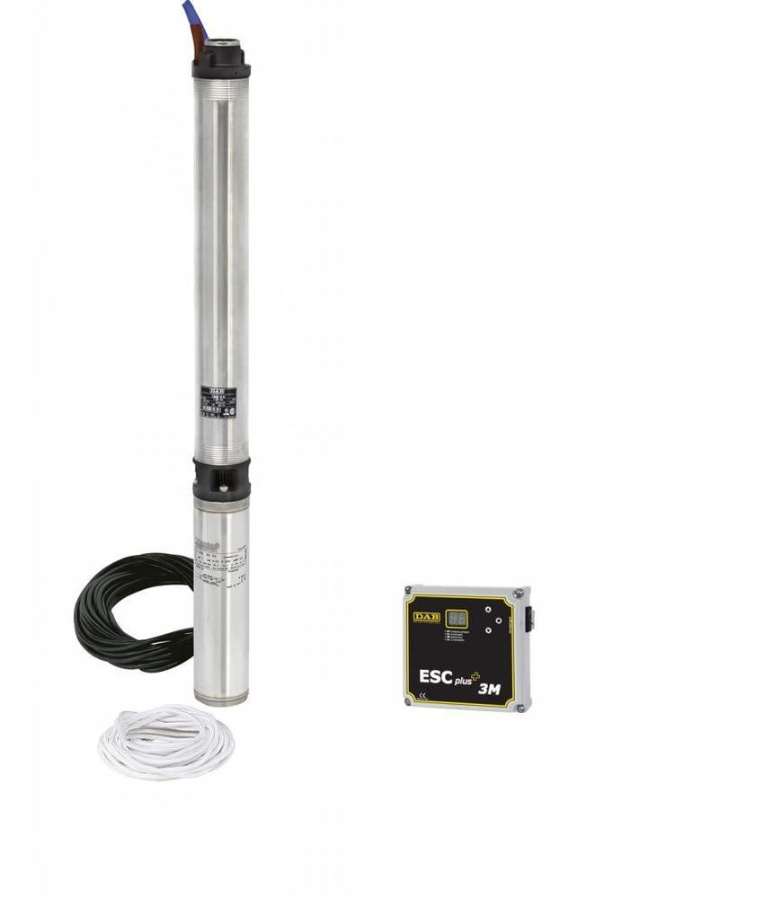 DAB S4 F7T KIT 400 volt bronpomp set + DAB ESC Plus 4T