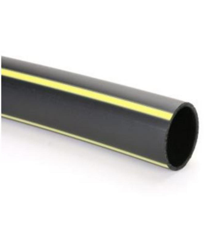 PE gasleiding SDR 11 gastec Ø 63 mm L = 100 meter