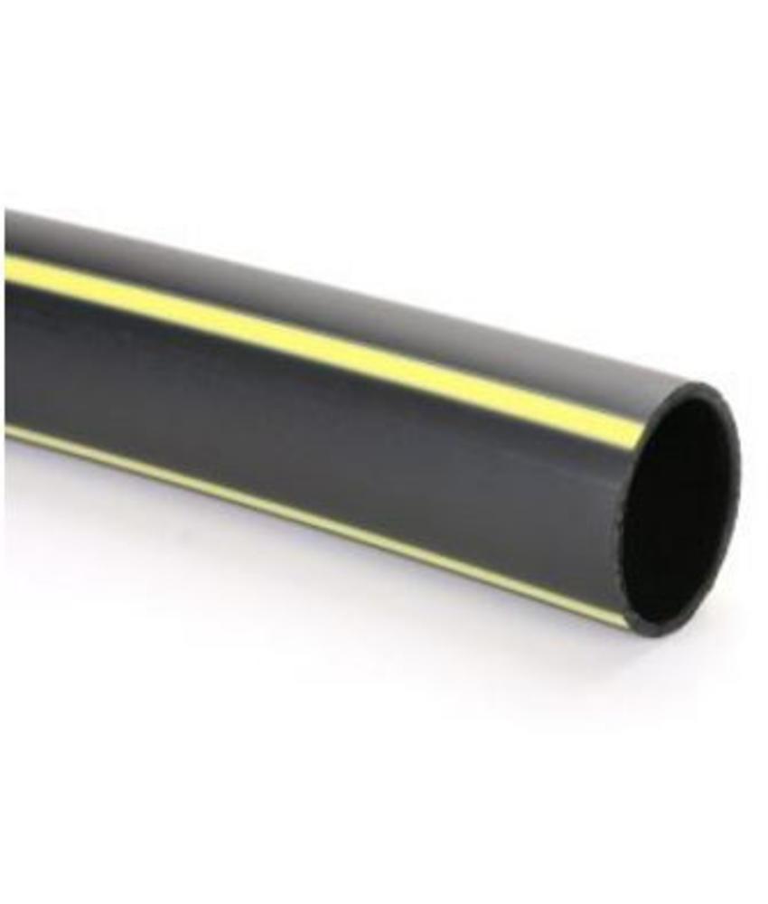 PE gasleiding SDR 17,6 gastec Ø 63 mm L = 50 meter