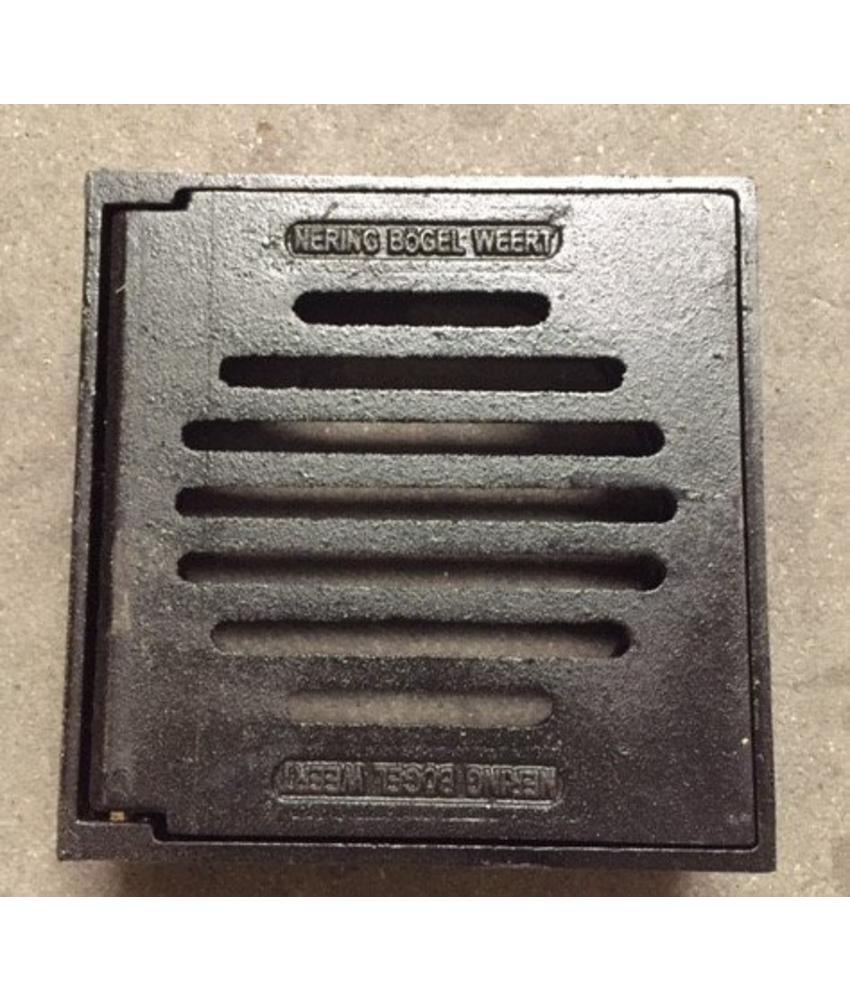 Tegelpadkolk Ø 250 mm, gietijzer