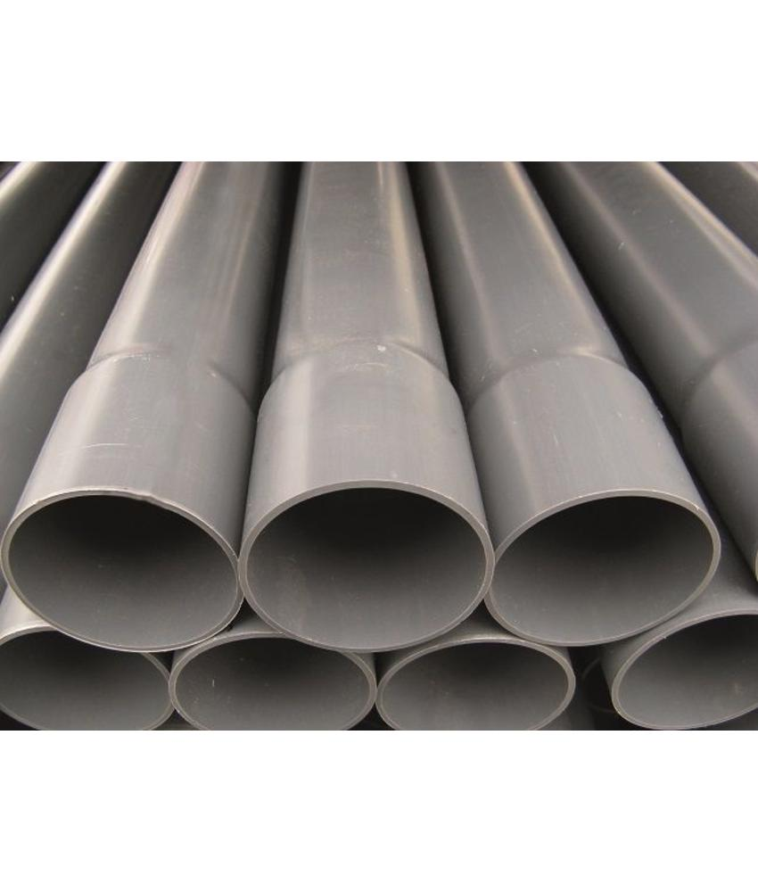 PVC drukleiding ongekeurd Ø 125 L= 5 meter, PN 7,5