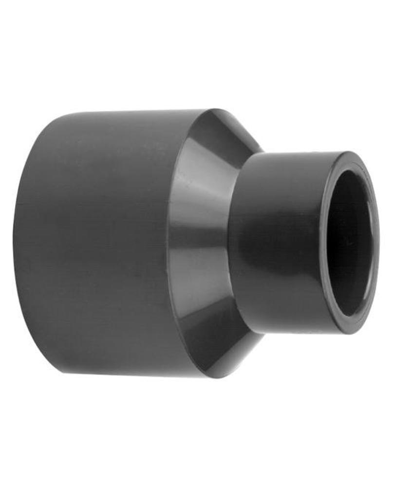 VDL PVC inzet verloopsok 90/75 x 63 PN16