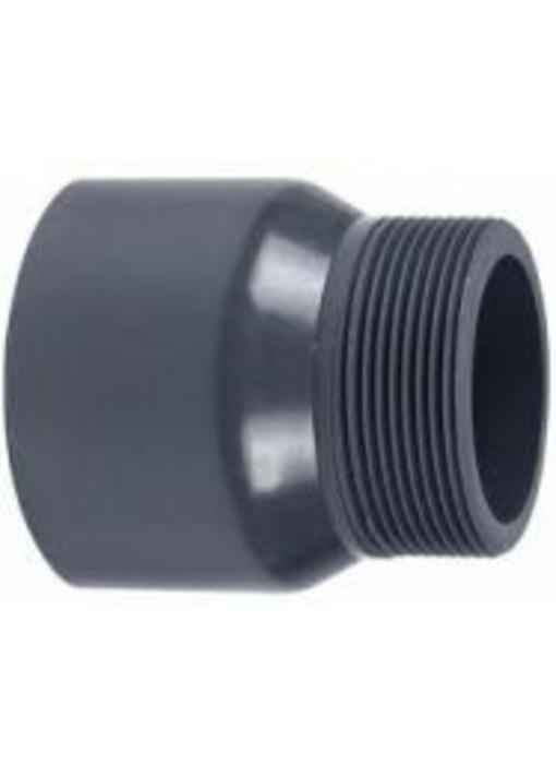 VDL PVC puntstuk handgevormd 32 x 3/4'' PN16