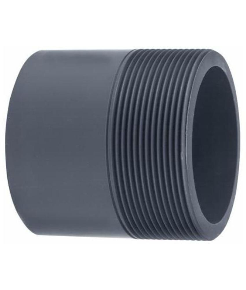 VDL PVC puntstuk handgevormd 75/90 x 3'' PN16 rechte uitvoering