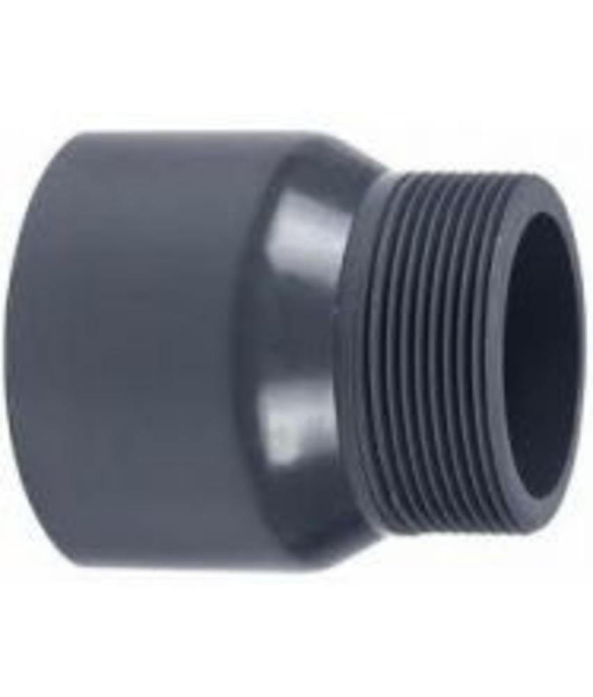 VDL PVC puntstuk handgevormd 125 x 3'' PN16
