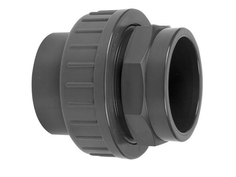 VDL PVC drie-delige koppeling lijmverbinding 50 mm