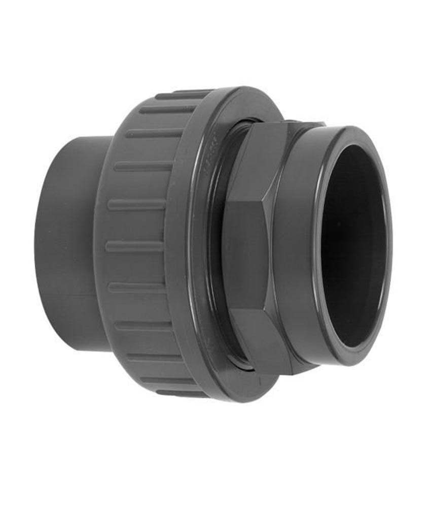 VDL PVC drie-delige koppeling lijmverbinding 90 mm