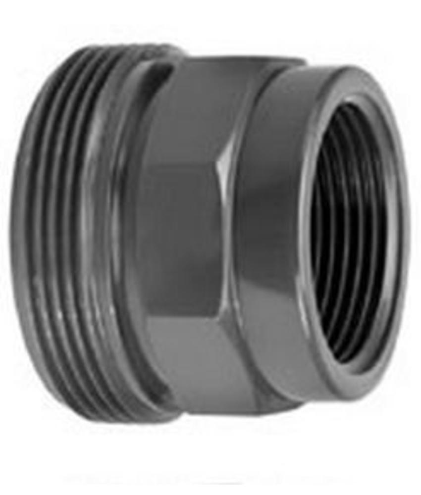 VDL PVC 1 1/4'' x 3/4'' draadeind buitendraad x binnendraad