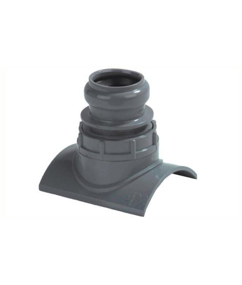 PVC klemaanboorzadel SN4, 125x50
