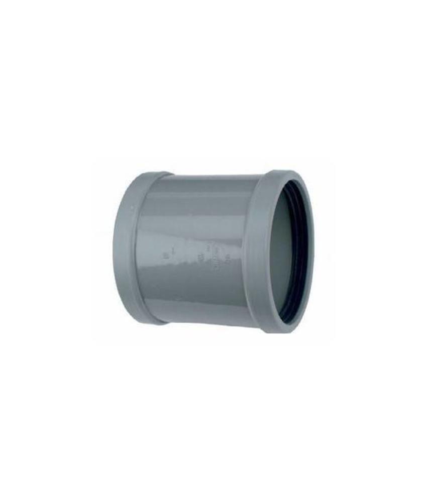 PVC overschuifmof SN8 125 mm