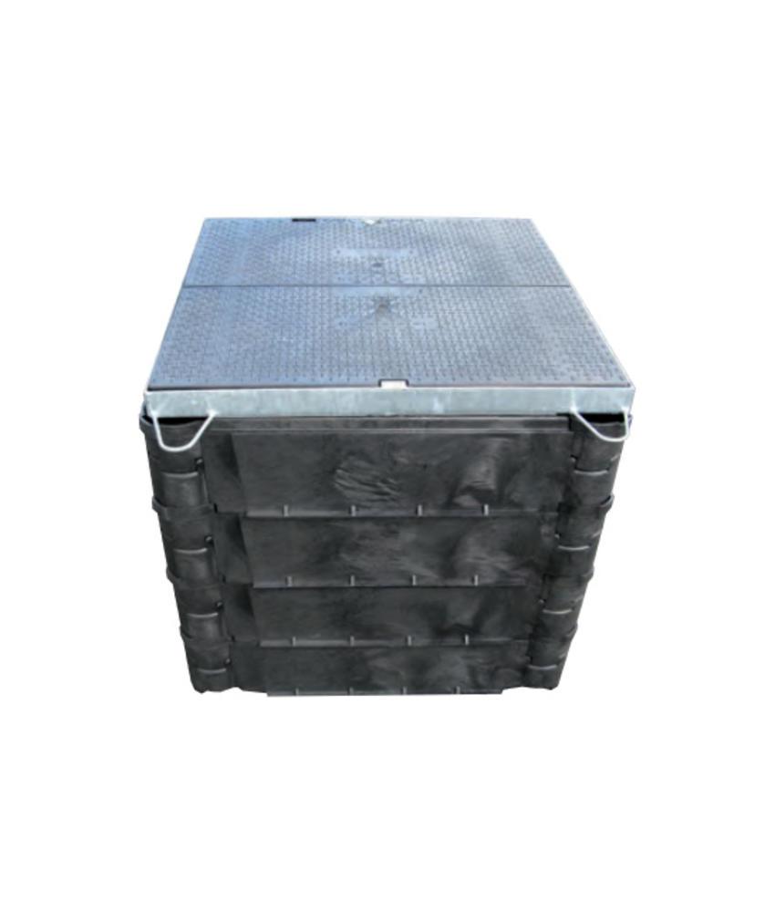 Carson STAKKA boxen - 915 x 610 mm bodemplaat met ring