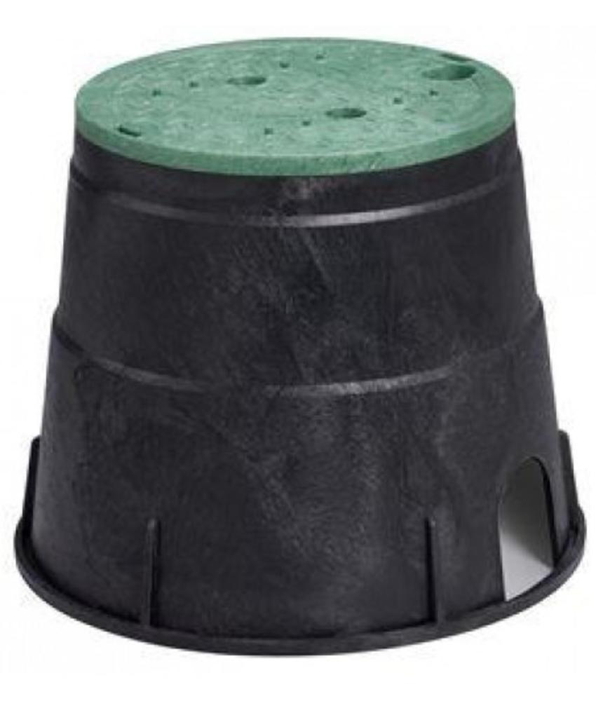 Ronde kleppendoos ∅ 17,5 cm incl. deksel