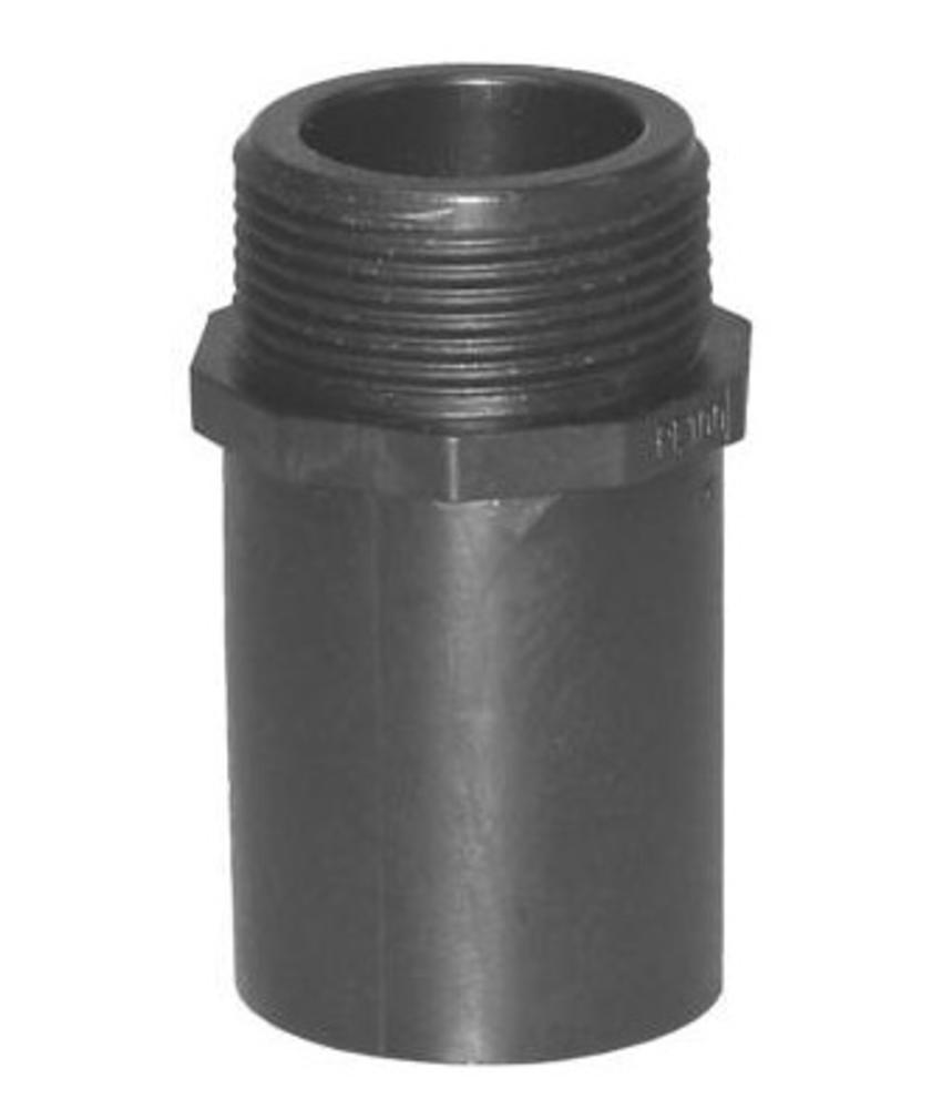 """Plasson Puntstuk 32 mm x 1"""" met lang spie-eind"""