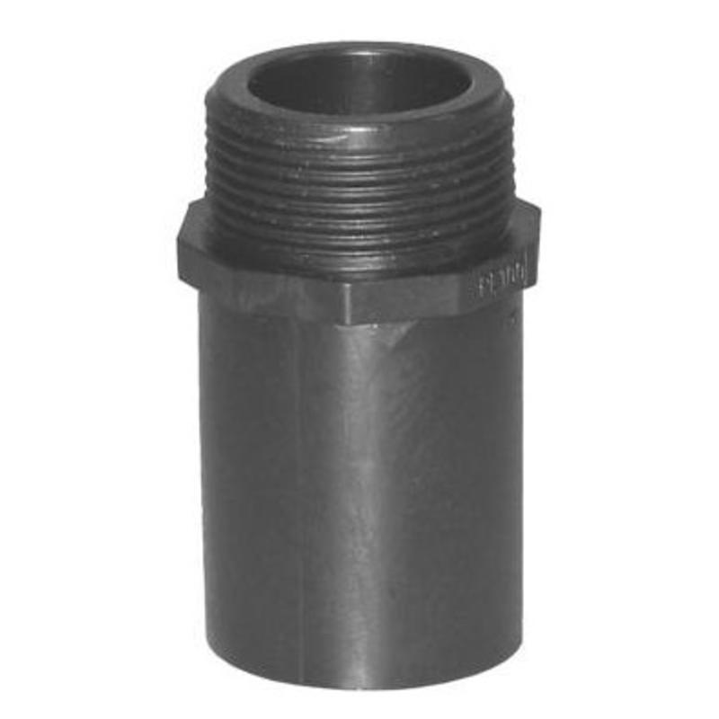 """Plasson Puntstuk 50 mm x 1½"""" met lang spie-eind"""